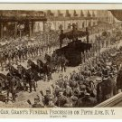 General Grant's Funeral Procession Cabinet Card