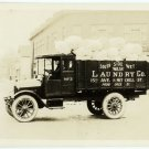 Delivery Truck Silver Photograph