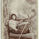 Theatrical Cabinet Card