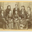CDV of Ten People