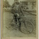 Two Pneumatic Bicycle Cabinet Cards