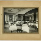 Restaurant Interior Silver Photograph