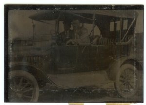 Touring Car Tintype