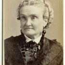 CDV of Actress Charlotte Cushman by Sarony