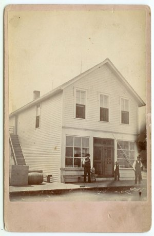 Exterior Storefront Cabinet Card