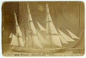 Sailing Ship Model by Watkins