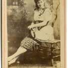 Camille D'Arville By Newsboy Cabinet Card