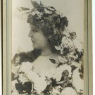 Newsboy Cabinet Card of Actress Belle Archer