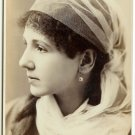 Cabinet Card of Emily Righ