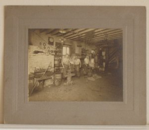 Blacksmiths Silver Photograph