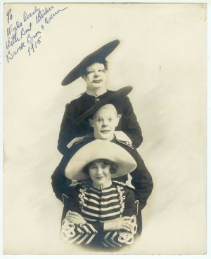 Brock Brothers and Edna Signed Photograph