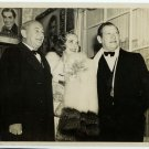 Joe Shenck, Alice Faye and Gregory Ratoff Photo