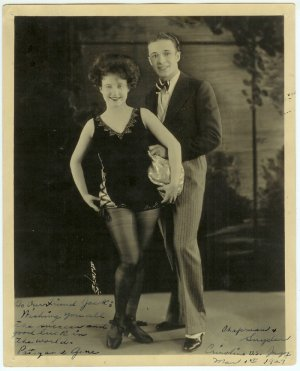 Vaudeville Duo Chapman and Snyder