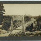 Kings River Bridge Silver Photograph