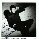 Autographed Gregory Abbott Silver Photograph