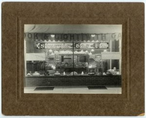 Sturgis Gas Company Silver Photograph