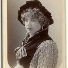 Outstanding Autographed Rosina Vokes Cabinet Card