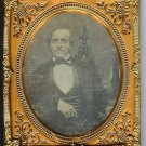 Daguerreotype of a Man - Distinctive Chair
