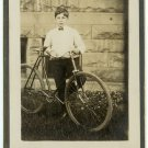 Boy with a Pneumatic Bicycle