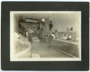 Grocery Store Interior - Sunkist Oranges