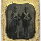 Tintype of Two Armed Militiamen