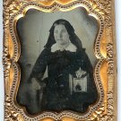 Mourning Ambrotype of a Widow