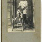 Rocking Horse Silver Photograph