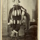 Amateur Theatrical Cabinet Card