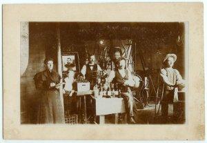 Albumen Photo of Bottlers