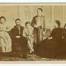 Ulysses S. Grant and Family CDV