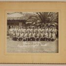 Signed Silver Photograph of Military Men