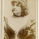 Ada Rehan Cabinet Card by Newsboy