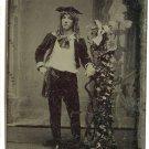 Tintype Little Lord Fauntleroy