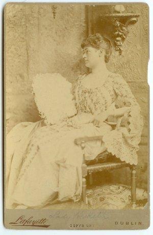 Ireland's Royalty: Lady Hesketh Cabinet Card