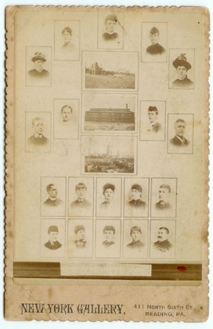 Photographic Display Cabinet Card