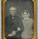 Superb Quarter Plate Wedding Daguerreotype
