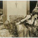 Elegant Reclining Lady Silver Photograph