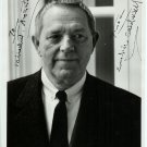 Erskine Caldwell Autographed Silver Photograph