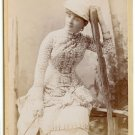Cabinet Card of Actress Sadie Martinot
