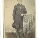 Civil War CDV ID'd Mustached Union Lieutenant