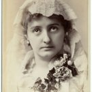 Alice Atherton by Scholl Cabinet Card