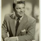 Guy Mitchell Signed Photograph by Kriegsmann