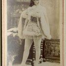 Jessie Bartlett Davis by Newsboy Cabinet Card