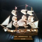 HMS Victory Tall Ship Schooner Wood Nautical Home