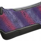 Showman Cheetah Patterned Wool Blend Saddle Pad by Showman