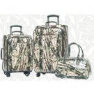 3 Piece Camauflage Western Luggage Set by Montana West includes Carry On