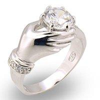 Hand CZ Ring