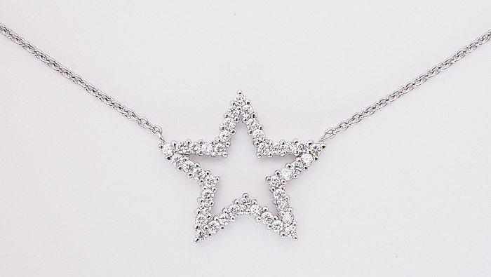 CZ Star Necklace