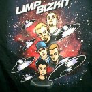 Limp Bizkit T-Shirt Spacey Logo Black Size XL