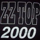 ZZ Top T-Shirt 2000 Millenium Black Size XXL